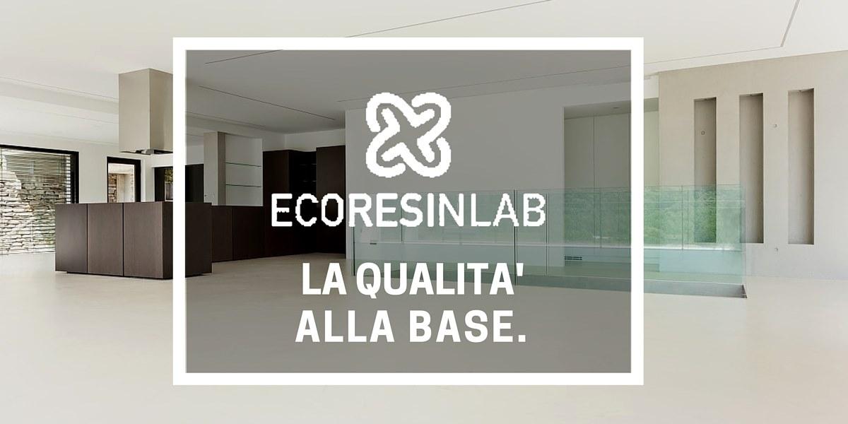 EcoresinLab specialisti in pavimenti in resina